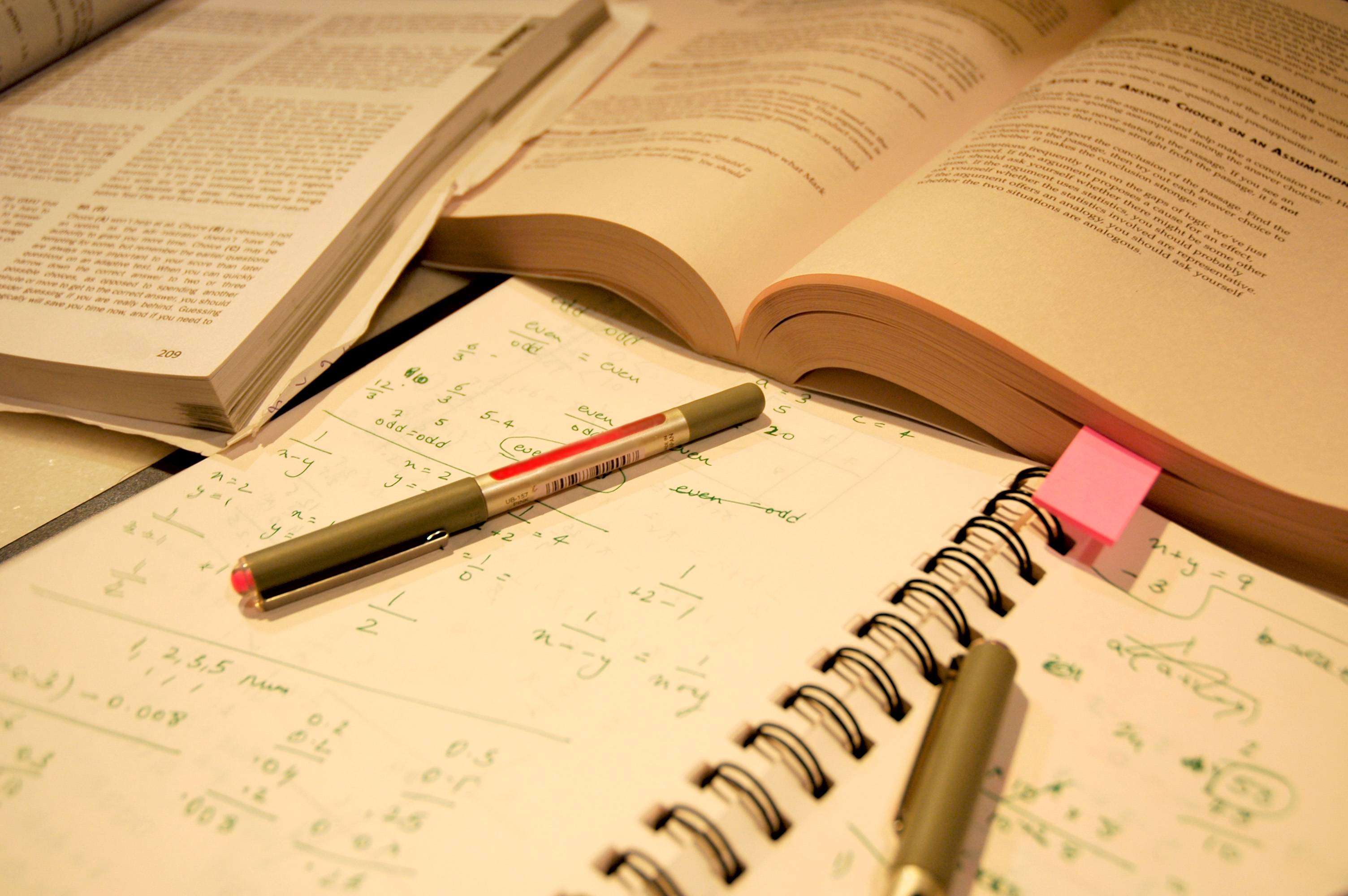 留学のための勉強量
