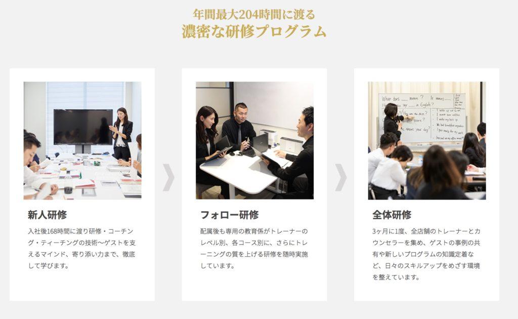 RIZAP ENGLISH(ライザップイングリッシュ) トレーナー研修2