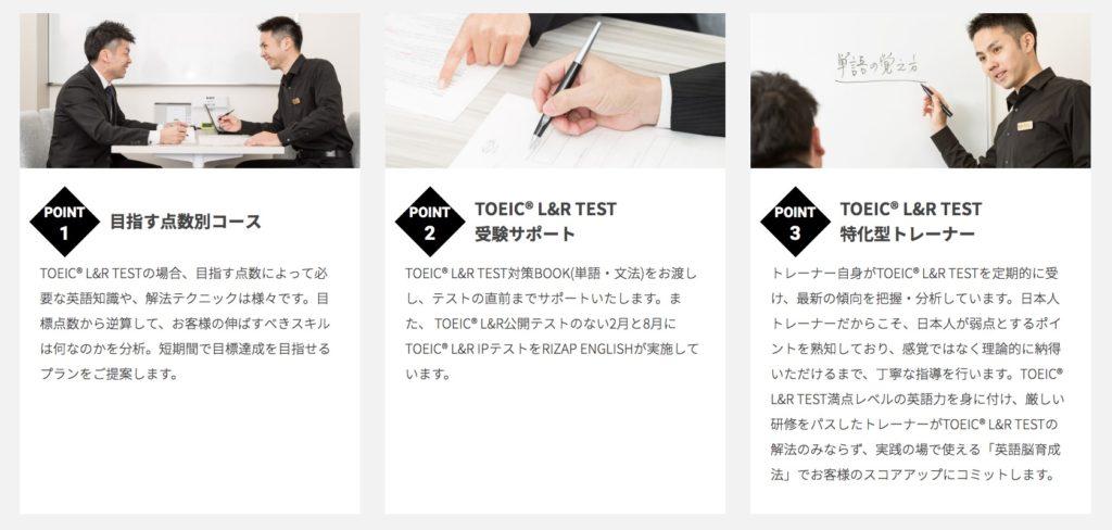 RIZAP ENGLISH(ライザップイングリッシュ)2 TOEIC® L&R TEST スコアアップコース