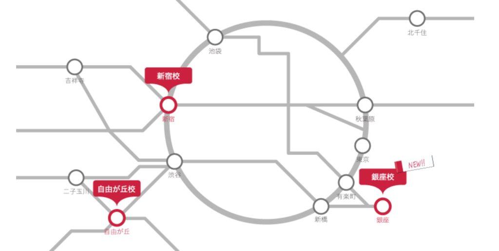 スパルタ英会話 地図